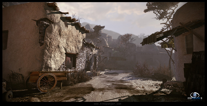 Tim Spanjer - 3D Environment Art - CryEngine 3 level